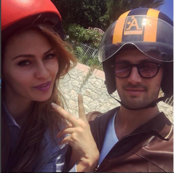 Виктория Боня с мужем Алексом Смерфитом