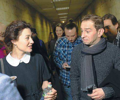 Константин Хабенский и Мириам Сехон