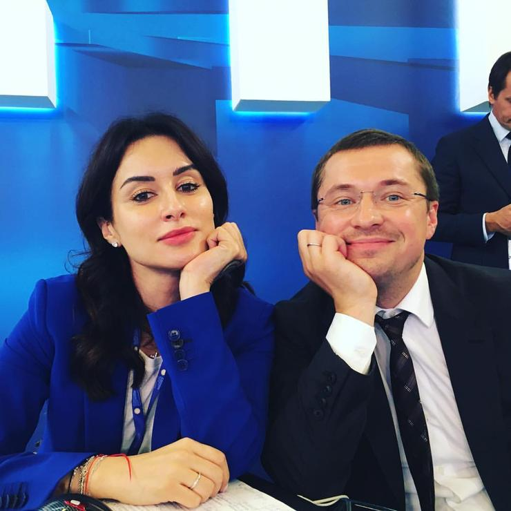 Тина Канделаки публикует снимки с мужем Василием Бровко