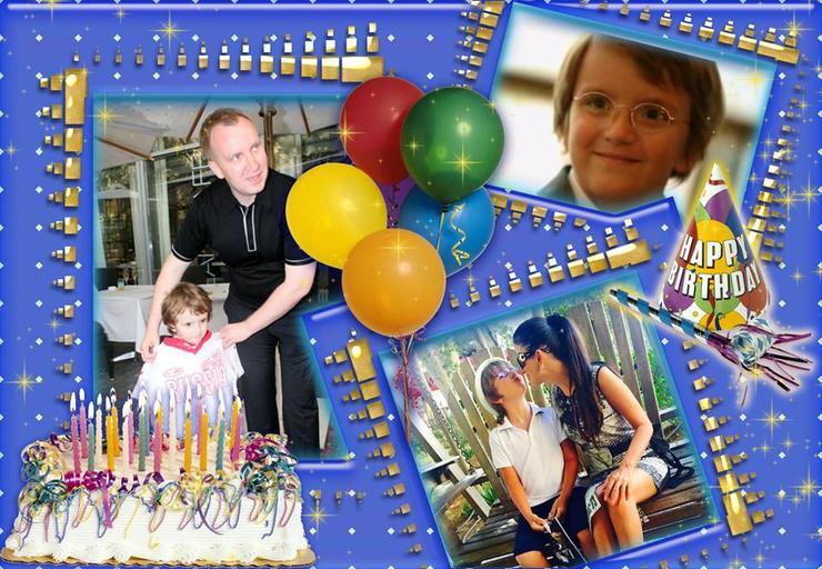 Сегодня сыну Петра Кучеренко и Дианы Гурцкая исполнилось 9 лет