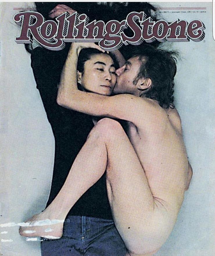 Та самая обложка с Джонном Ленноном 35-летней давности