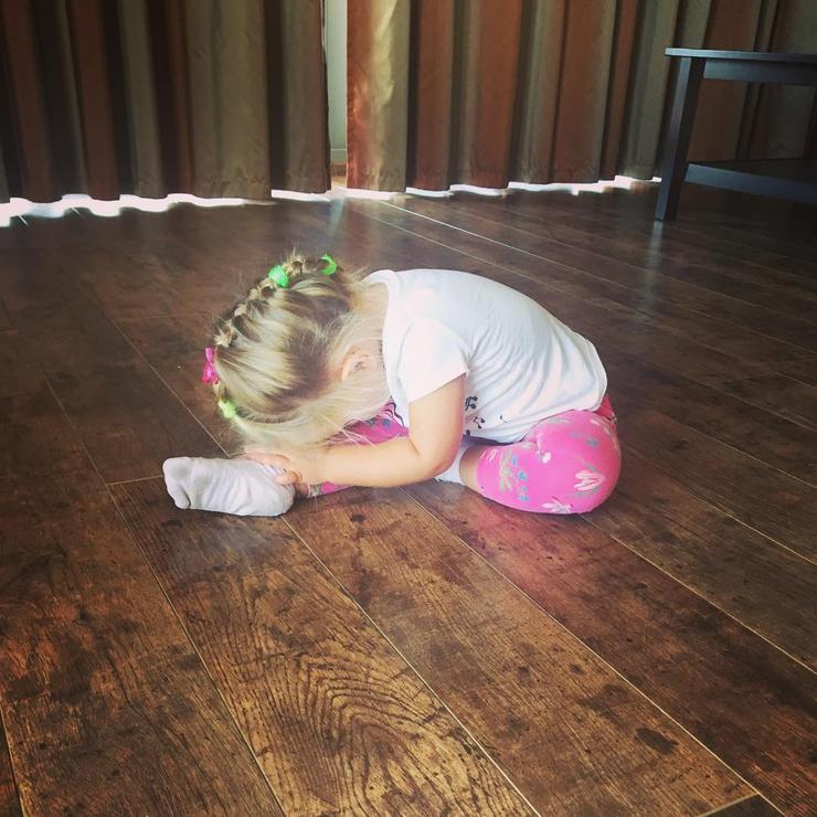 Татьяна Навка обнародовала фото двухлетней дочери и поведала о собственной мечте