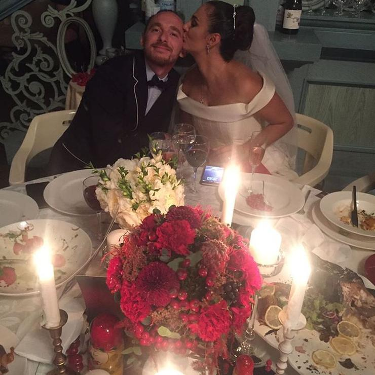 Елена Ваенга со своим мужем Романом Садырбаевым