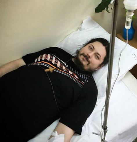 В больницу иеромонах Фотий попал сразу после концерта