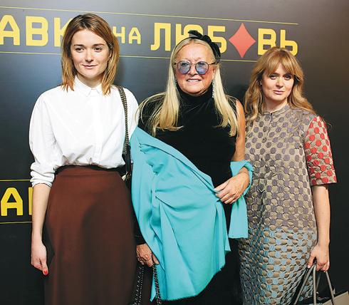 Татьяна Михалкова и ее дочери Надежда и Анна