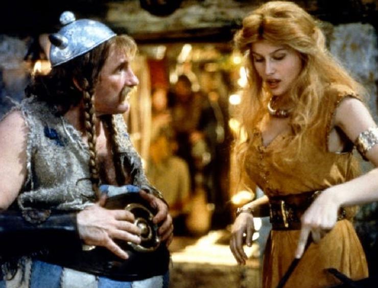 Свою первую, пусть и небольшую роль Летиция сыграла в картине «Астерикс и Обеликс»