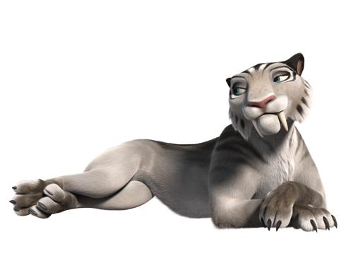 Альбина Джанабаева уже во второй раз дарит свой голос тигрице Шире — одному из новых персонажей серии мультфильмов «Ледниковый период»