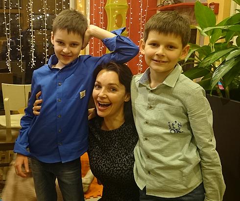 Актриса наталия антонова дети фото