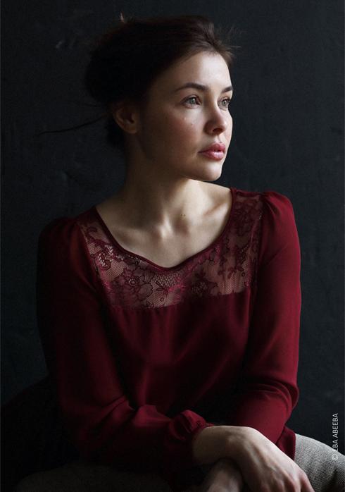 Одна из фоторабот Евы Авеевой