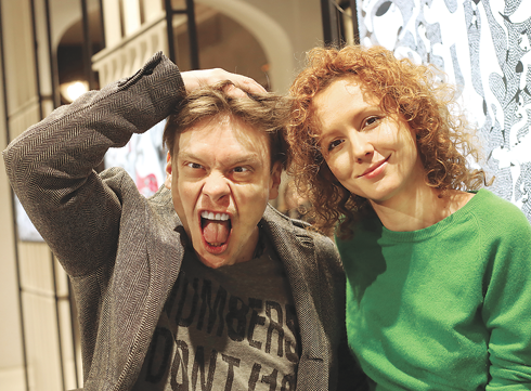 Павел Майков и Маша Саффо