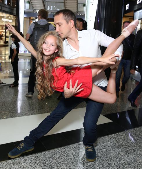 Данко с дочерью