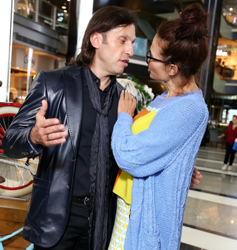 Александр Ревва и Эвелина Бледанс