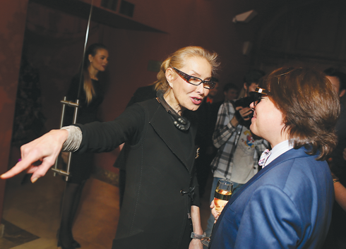 Ольга Свиблова и Валентин Юдашкин