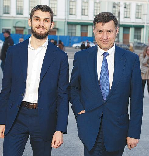 Андрей Голушко и Аркадий Абрамович