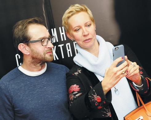 Константин Хабенский и Татьяна Лазарева