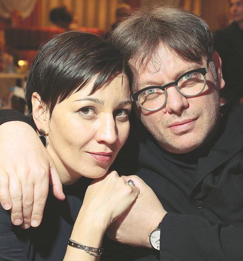 Полина Зуева и Валерий Тодоровский