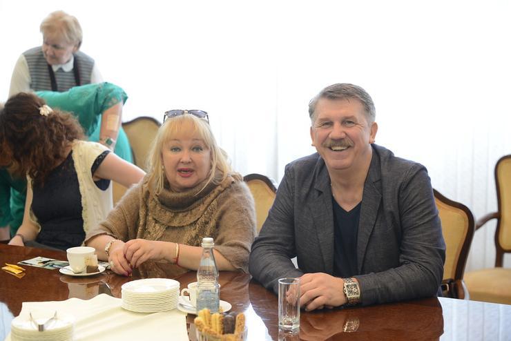 Наталья Гвоздикова и Сергей Баталов
