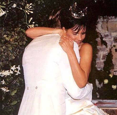 Виктория Бекхэм поздравила мужа с годовщиной свадьбы