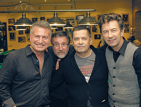 Леонид Агутин, Леонид Ярмольник, Николай Расторгуев и Валерий Сюткин