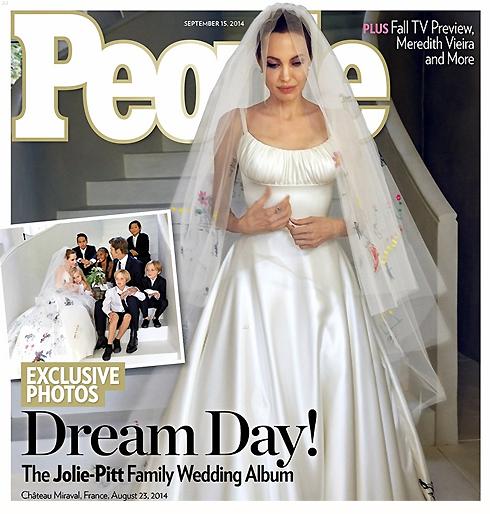 Брэд Питт иАнджелина Джоли торжественно отпраздновали второю годовщину свадьбы