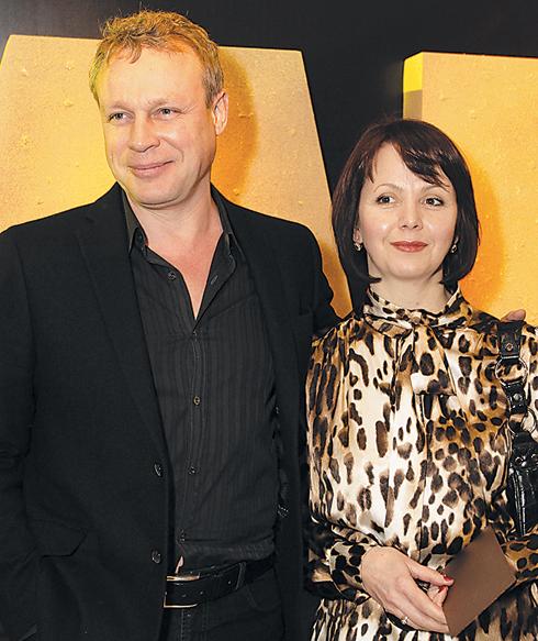 Сергей Жигунов и Вера Новикова