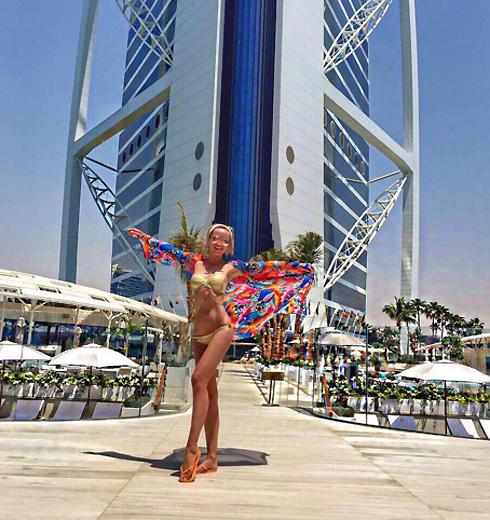 Ольга Бузова в Дубае
