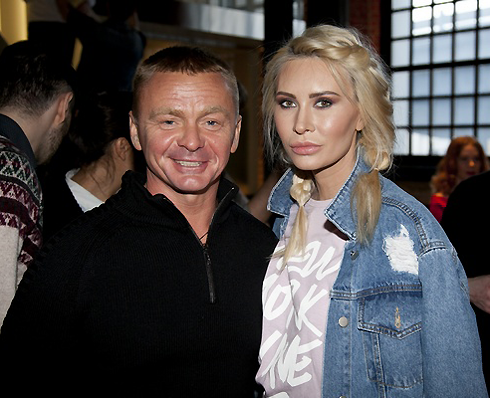 Владимир Сычев и Элина Камирен