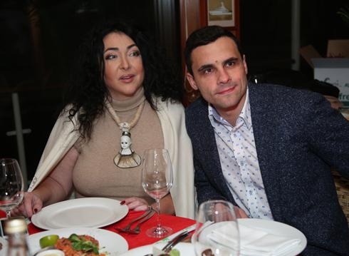 Лолита Милявская с мужем Дмитрием