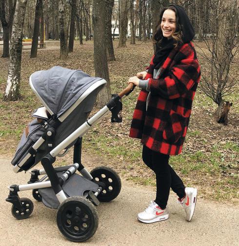 Полгода назад у Дайнеко родилась дочь.Ее имя она пока не раскрывает