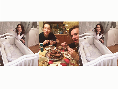 В отличие от Виктории, у Дмитрия в микроблоге присутствуют семейные фотографии