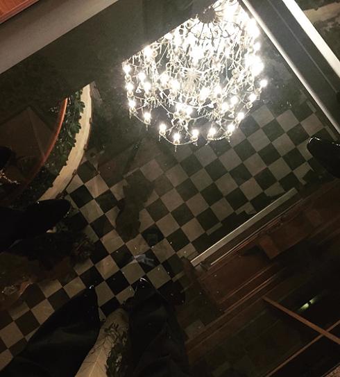 polinadibrova: «Странное ощущение.... два этажа под ногами»