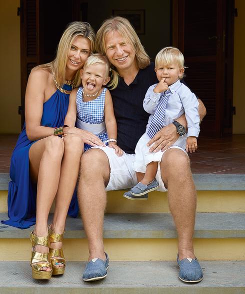 С любимой женой Татьяной, дочерью Лидой и сыном Даней