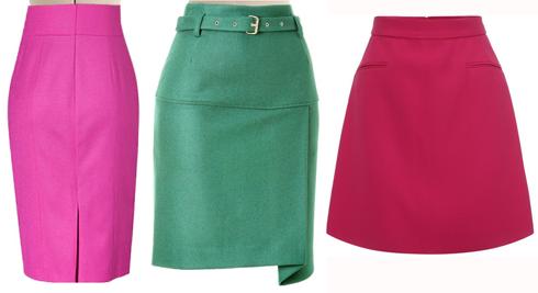 Наш эксперт рекомендует Юлии выбирать юбки прямого силуэта и трапеции