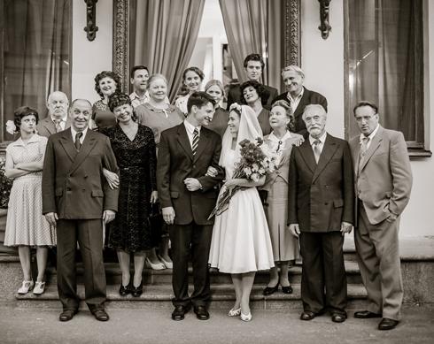 Авторы сериала постарались воссоздать атмосферу 1950-х годов ХХ века
