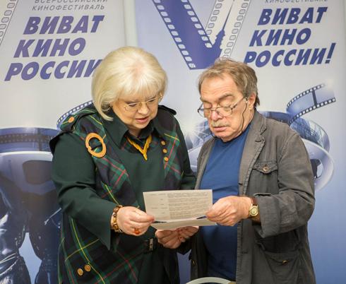 Светлана Крючкова и Александр Адабашьян