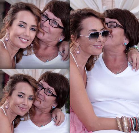 Жанна Фриске с мамой