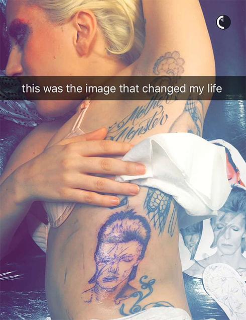 «Это изображение полностью изменило мою жизнь», – призналась Гага