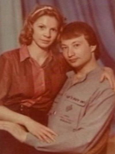 Юморист со своей женой Ириной Ракшиной