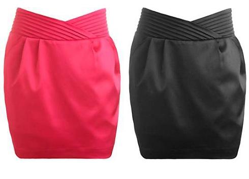 Прямые юбки можно заменить трапециями или юбкой-коконом