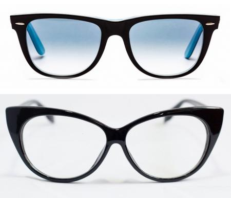 Наш эксперт рекомендует Насте носить очки таких форм, как некрупные кошечки (бабочки) или вайфареры