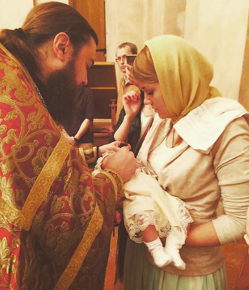 germanicaislove_official: «Крещение Северины Матреной, на фото с двумя крестными»