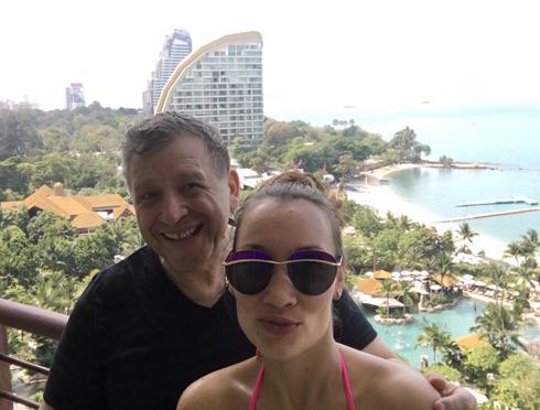 Борис Грачевский и Екатерина Белоцерковская сейчас отдыхают в Паттайе
