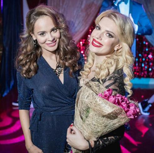 Анна Калашникова и Катя Гусева