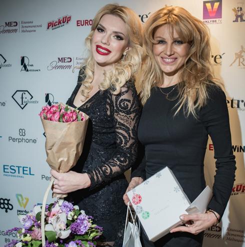 Катя Гусева и Ирина Нельсон