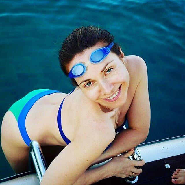 Екатерина Гусева предпочитает наслаждаться отдыхом без косметики