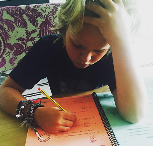 Сын Гвинет Пэлтроу Мозес не любит делать домашнее задание
