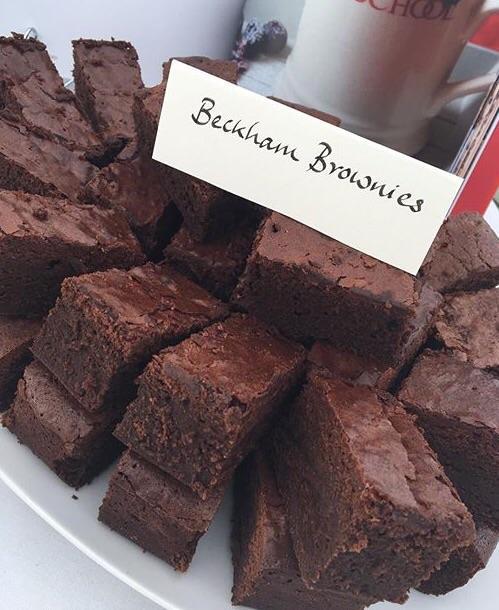 Пирожные брауни от Виктории Бекхэм