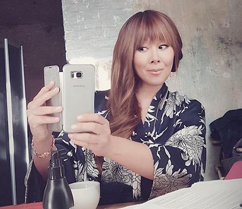 Анита Цой вновь стала активным пользователем соцсетей