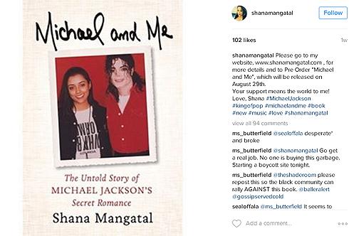 Бывшая любовница Майкла Джексона Шана Мангатал написала книгу об их отношениях