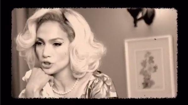 Кадр из нового клипа Дженнифер Лопес